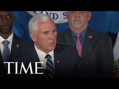 Mike Pence Talks Border Security As He Visits An ICE Field Office In Atlanta | TIME