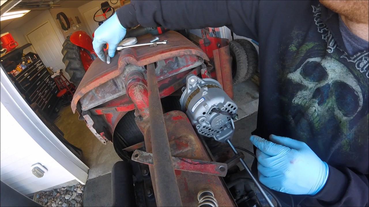 farmall h 12 volt conversion wiring diagram club car 1942 episode 9 youtube