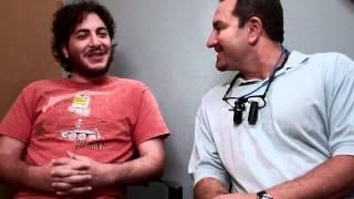 Project X Oliver Cooper shares smile with Toledo Dentist Jon Frankel.mp4