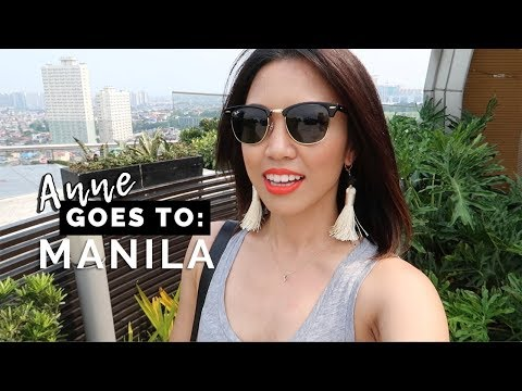 ANNE GOES TO: MANILA, PHILIPPINES + Surprising My Grandma | TRAVEL VLOG | beautybitten