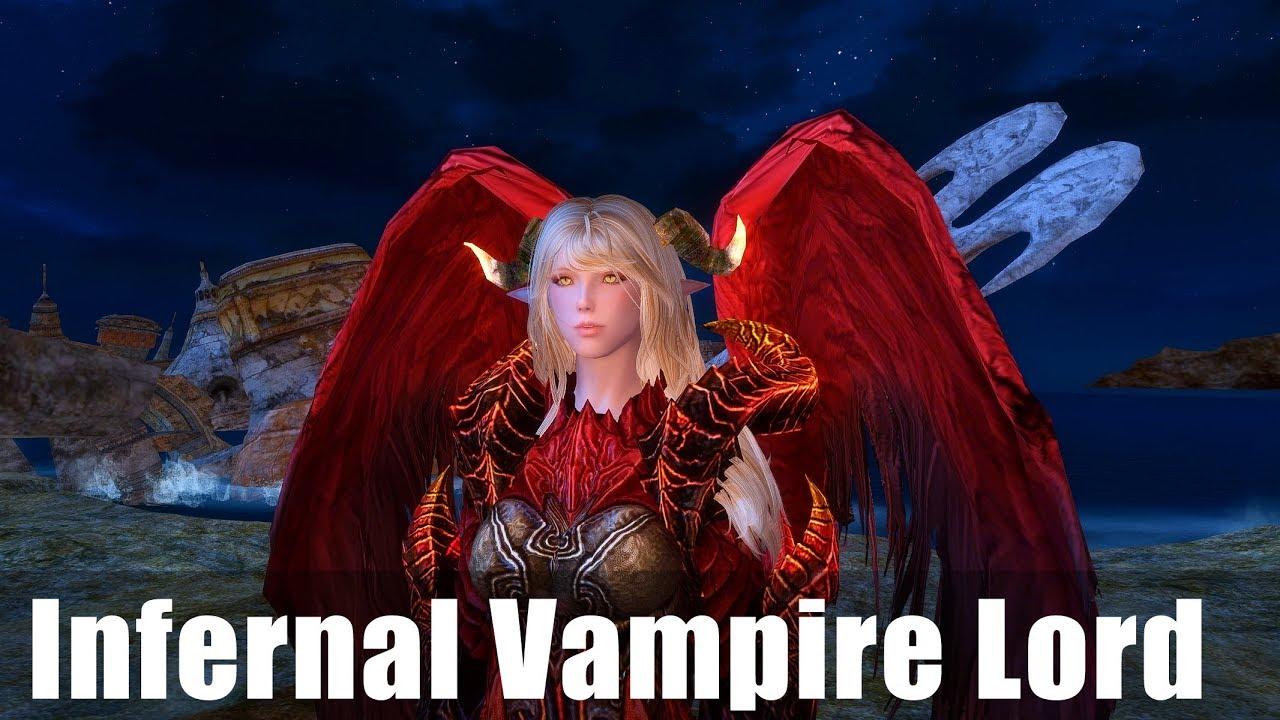 Skyrim Mod Showcase: Custom Vampire Lord Test Flight