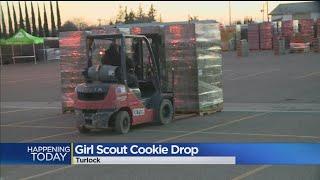 Girl Scout Cookie Mega Drop In Turlock