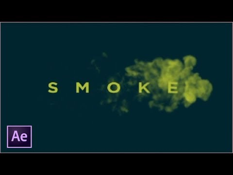 After Effects Tutorial 4 -  Smoke Text Effects thumbnail