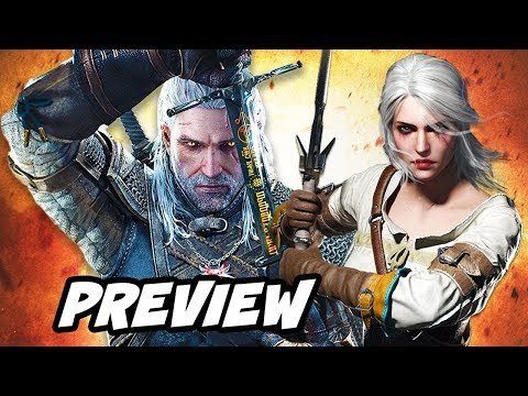 The Witcher Netflix Series Preview and Book Story to Witcher 3 Explained