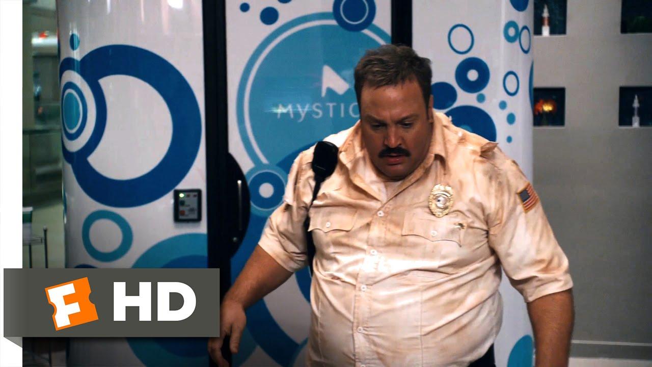 Paul Blart Mall Cop 2009 Tanning Bed Trap Scene 5 10