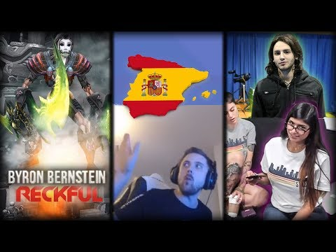 Browsing old Twitch. Spain w/ Forsen. Roasted by Mia Khalifa.