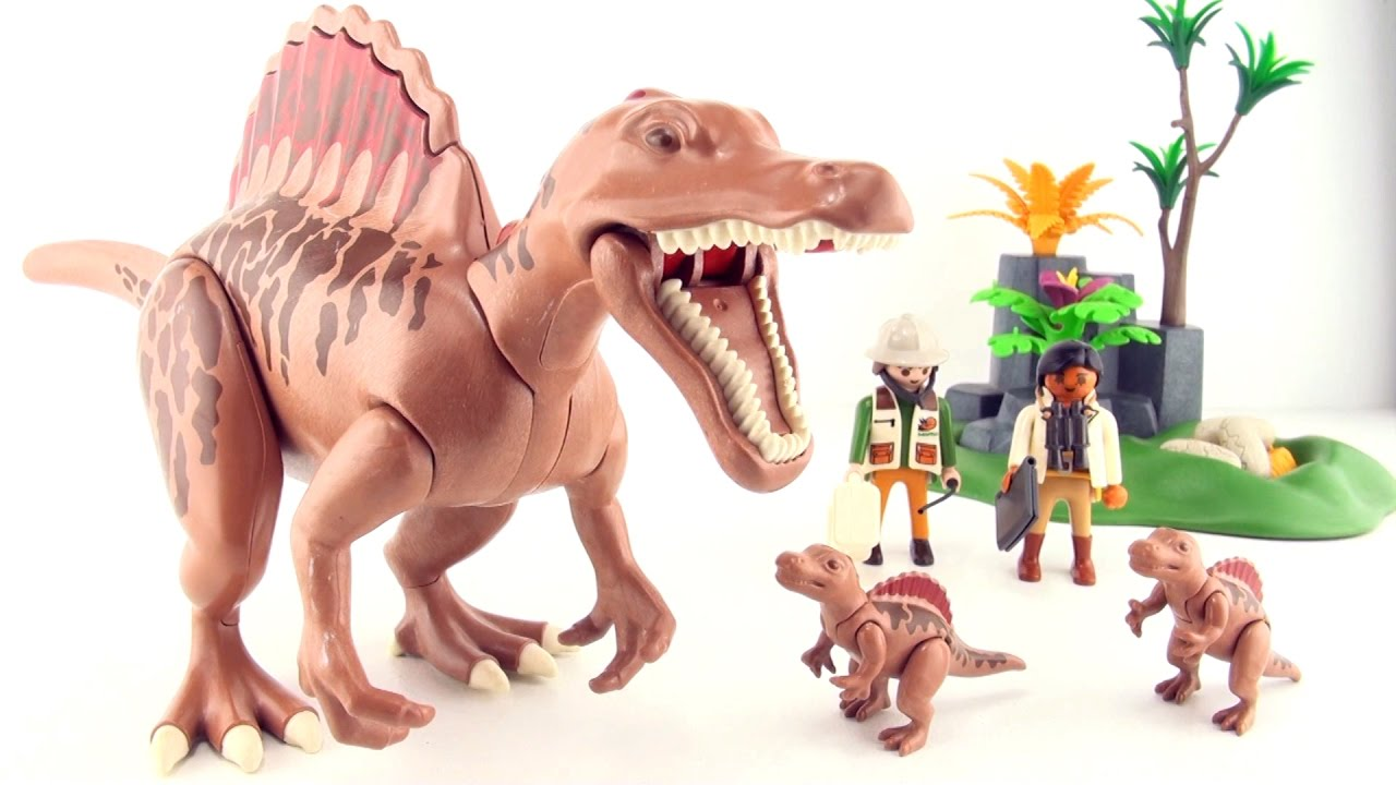 Playmobil Dinos Spinosaurus - Nest with Spinosaurus babies and eggs 9 -  Dinosaur toys for kids