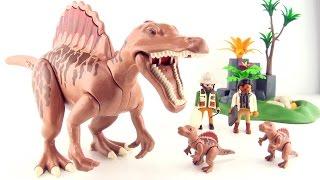 Playmobil Dinos Spinosaurus - Nest with Spinosaurus babies and eggs 4174 - Dinosaur toys for kids