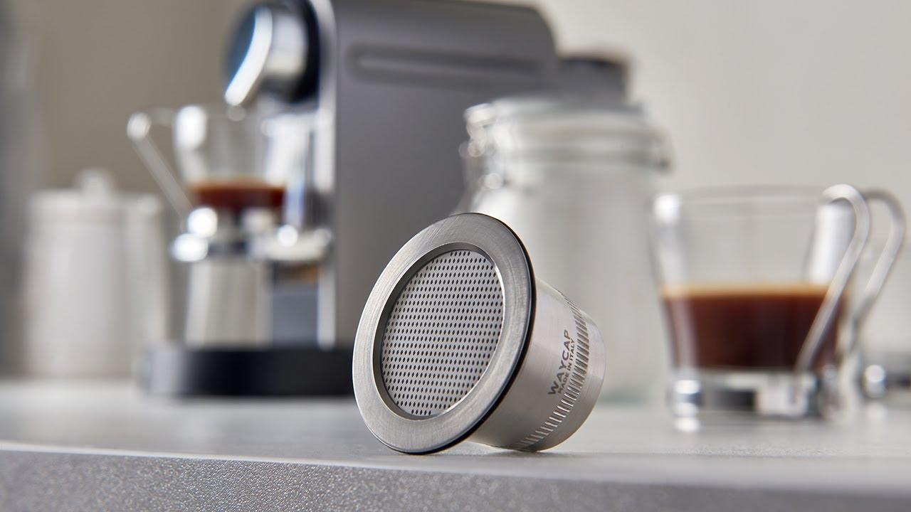 Waycap Steel Refillable Nespresso Capsule Youtube