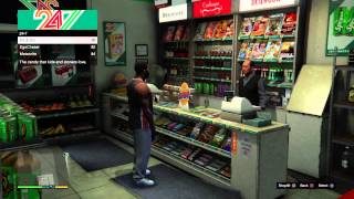 GTA 5: First Person Franklin in desperation