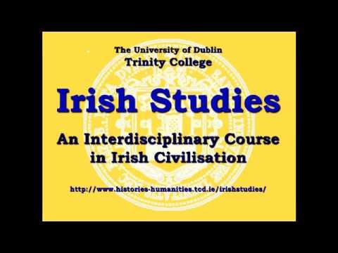 Irish Studies - TCD Undergraduate Open Day 2012