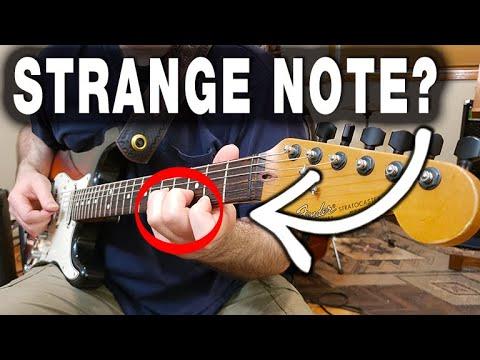 Strange Note Catches Guitarist's Attention! (SOUNDS MAJOR BUT - NO!)