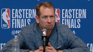 Nick Nurse Postgame Interview - Game 1 | Raptors vs Bucks | 2019 NBA Playoffs