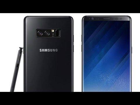 Первый взгляд на Samsung Galaxy Note 8