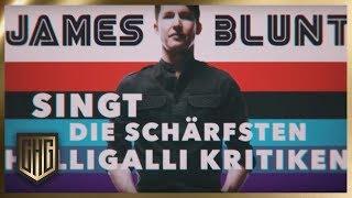 James Blunt singt HalliGallis schärfste Kritiken | Circus HalliGalli | ProSieben