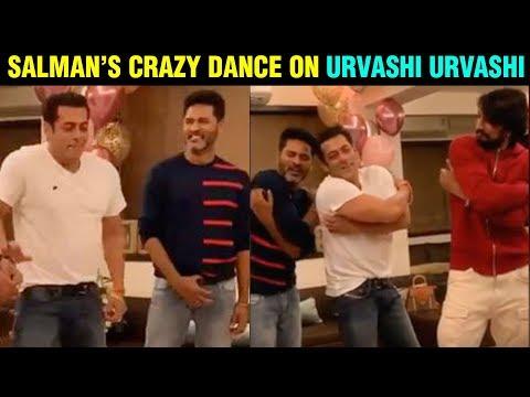 Prabhu Deva & Kiccha Sudeep URVASHI URVASHI Dance With Salman Khan | Dabangg 3 Mp3