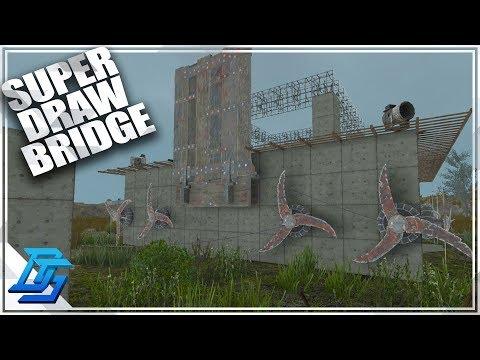 DRAWBRIDGE UPGRADE!  - 7 Days To Die - S2- Pt. 32 (Alpha 16)
