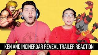 Ken & Incineroar Reveal Trailer Reaction!!!!!!