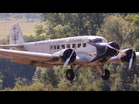 HB-HOT Tante Ju I JU-Air Junkers Ju 52   Takeoff Hahnweide 2016