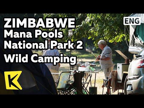 【K】Zimbabwe Travel-[짐바브웨 여행]마나풀스 국립공원 2 야생에서 캠핑을 즐기는 사람들/Wild/Camping/Zambezi River/Safari