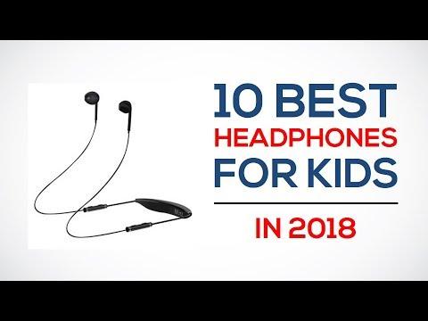 10 Best Headphones For Kids Reviews In 2018