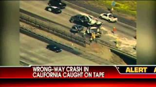 Wrong-Way Crash Caught on Tape