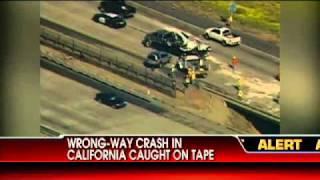 Wrong-Way Crash Caught on Tape