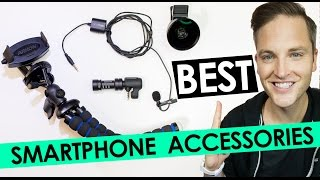 Best Smartphone Accessories — Best Camera Lens, Microphone and Tripod for Mobile Phones(, 2016-08-16T15:33:28.000Z)