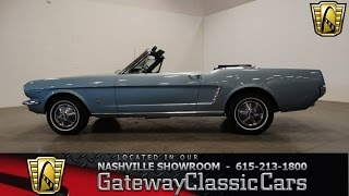 1965 Ford Mustang Convertible , Gateway Classic Cars-Nashville#263