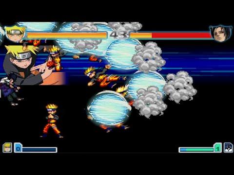 Bleach vs Naruto 2.4 Cheats - Infinity Combos (Corner Spamming)