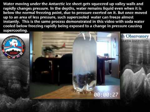 Super-cooled Liquid Freezing