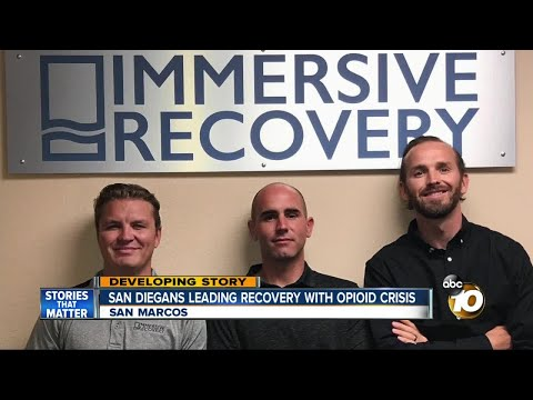 San Diegans leading recovery with opioid crisis