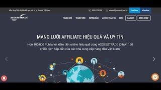 Hướng dẫn đăng ký tài khoản Accesstrade mới nhất | Đào Xuân Nhất