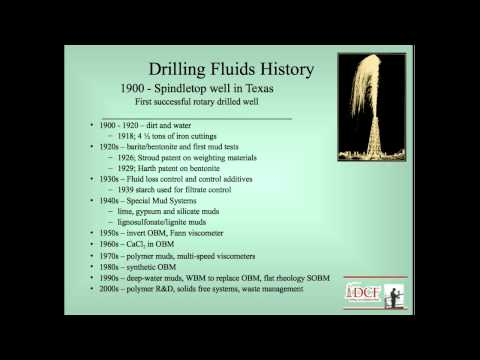 Drilling & Completion Fluids Schools Review