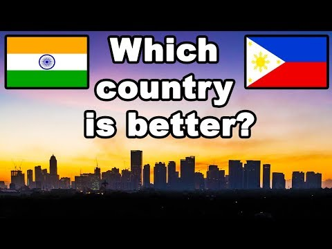 India vs Philippines Country Comparison (2018)