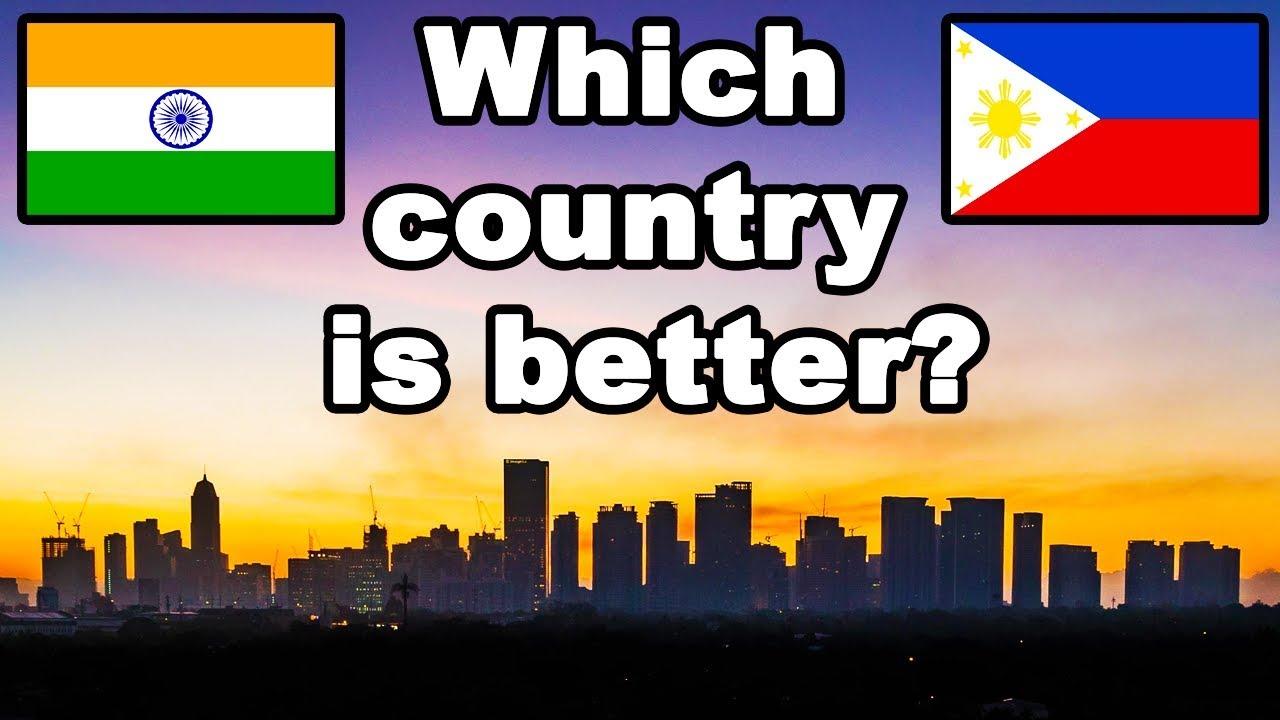 India vs Philippines Country Comparison (2018)