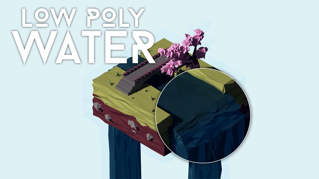 Blender tutorial low poly water youtube baditri Choice Image