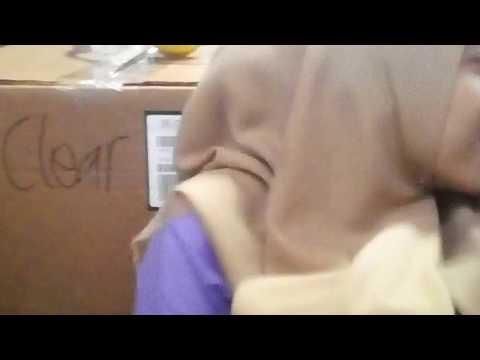 Jilbab Coklat Malu-maluu
