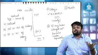 HRA Calculation under head salary