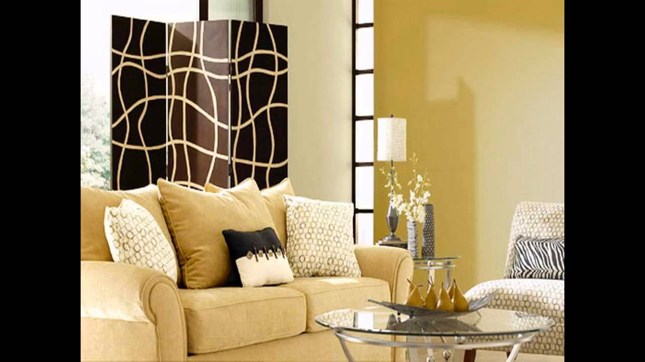 Creative Color paint ideas for living room - YouTube