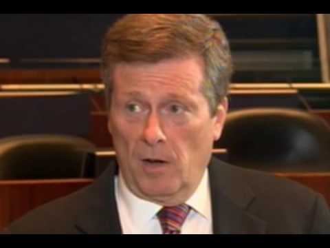 Pt 1 John Tory Speaks with Conrad Black