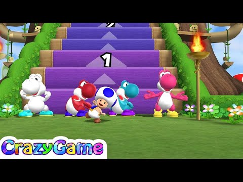 Mario Party 9 Step It Up #129 (Free for All Minigames)