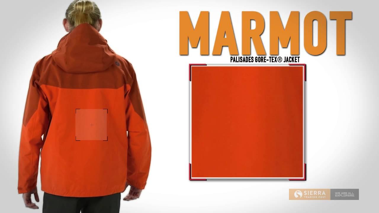 Marmot palisades jacket test