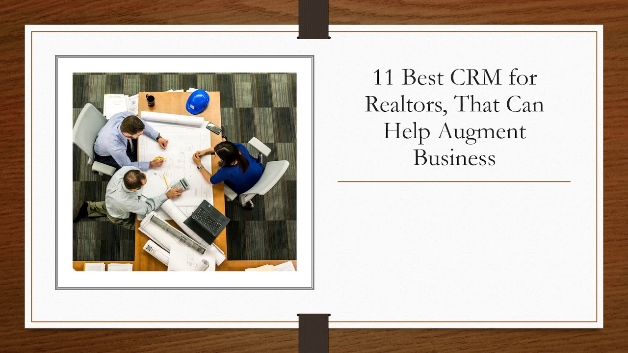 Best Crm For Real Estate Agents 2020 11 Best Real Estate CRM to manage your Real Estate customers