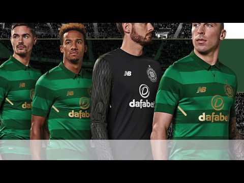 New Balance Celtic FC 2017/2018 Away Jersey