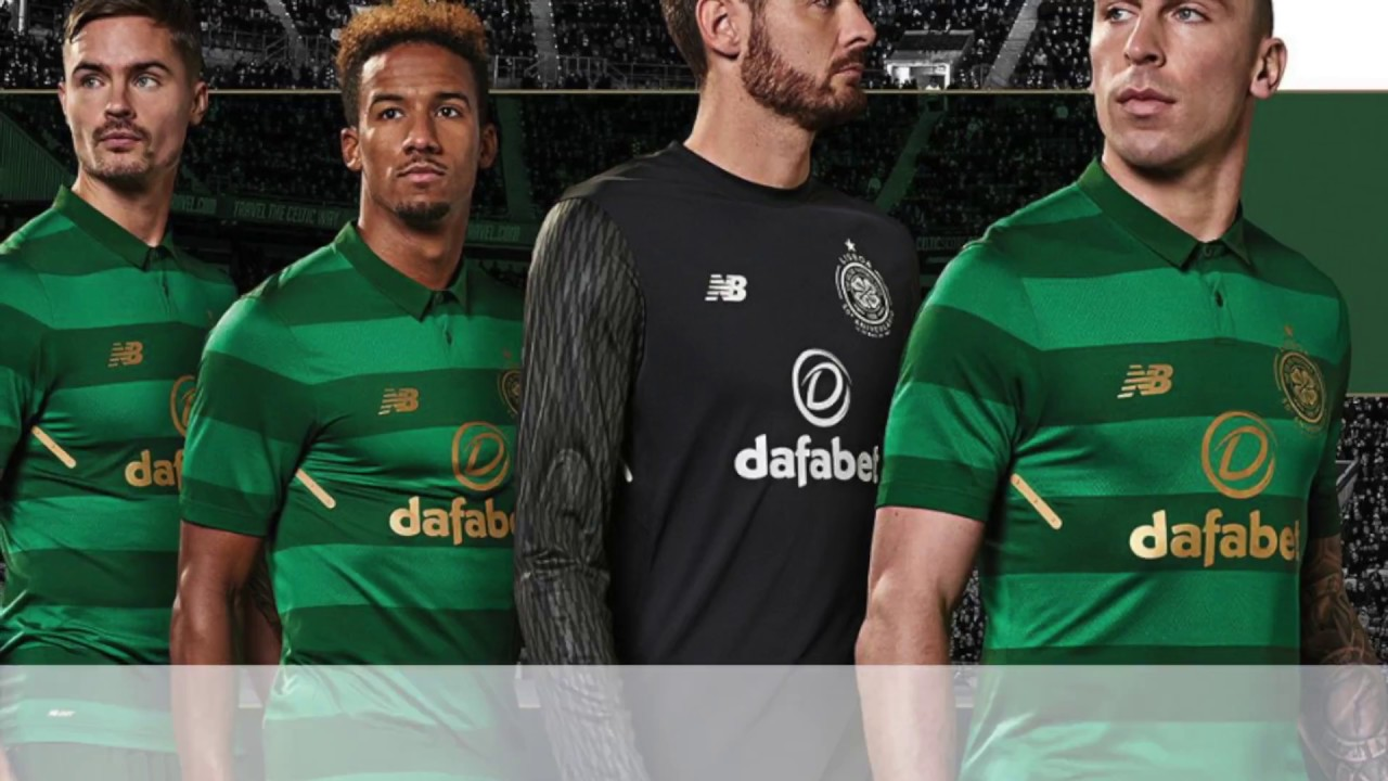 68b663140 New Balance Celtic FC 2017 2018 Away Jersey - YouTube
