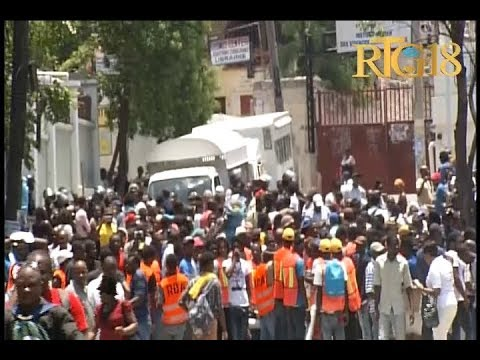 Haiti .- Petro Challenge / Sit-in / Vendredi 26 Avril 2019