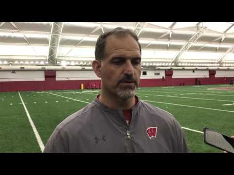 Wisconsin OC Joe Rudolph on David Edwards, Alex Hornibrook