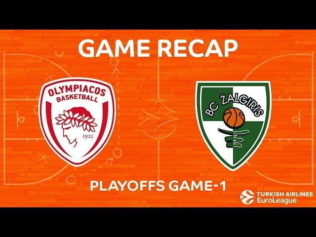 Highlights: Olympiacos Piraeus - Zalgiris Kaunas