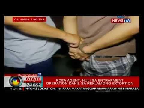 SONA: PDEA agent, huli sa entrapment operation dahil sa reklamong extortion
